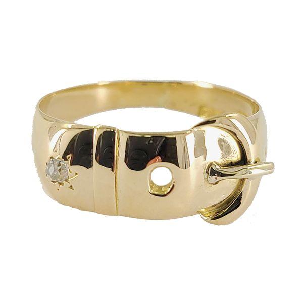 yellow-gold-buckle-diamond-ring