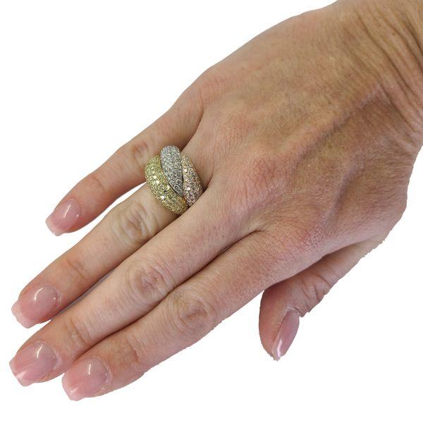 Tri-colored-diamond-ring