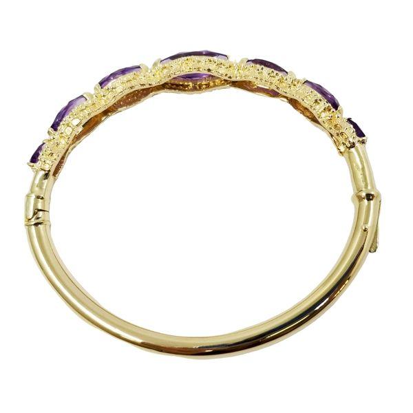 Vintage Marquis Amethyst Bracelet Image 2 Jae's Jewelers Coral Gables, FL