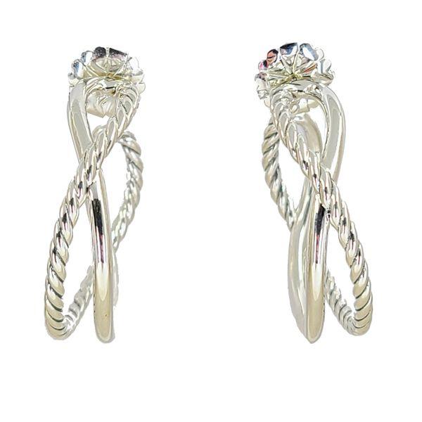 David-yurman-woven-crossover-sterling-silver-earrings