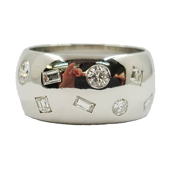 Platinum-wide-diamond-wedding-band