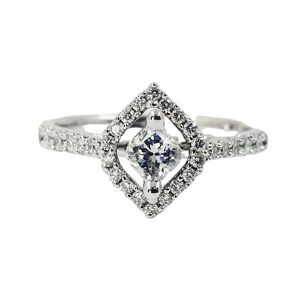 Diamond Calla Engagement Ring  Jae's Jewelers Coral Gables, FL