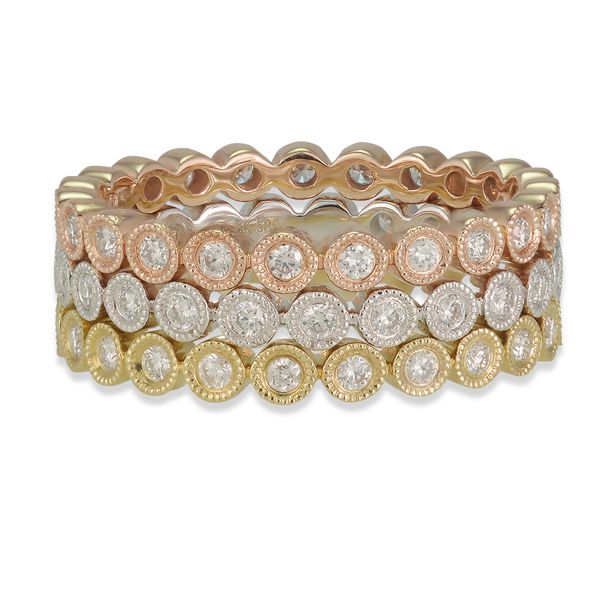 Diamond Eternity Band Image 2 Jae's Jewelers Coral Gables, FL