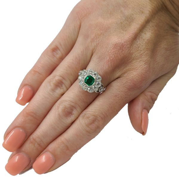 Emerald-and-diamond-ring