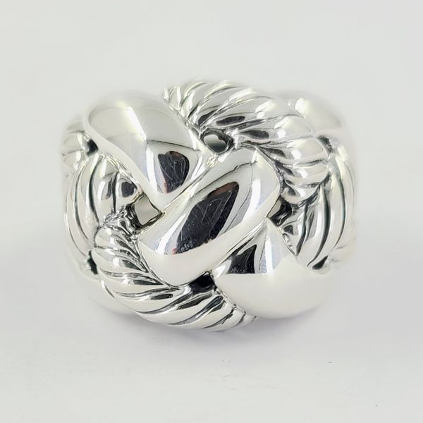 David-yurman-woven-sterling-silver-ring