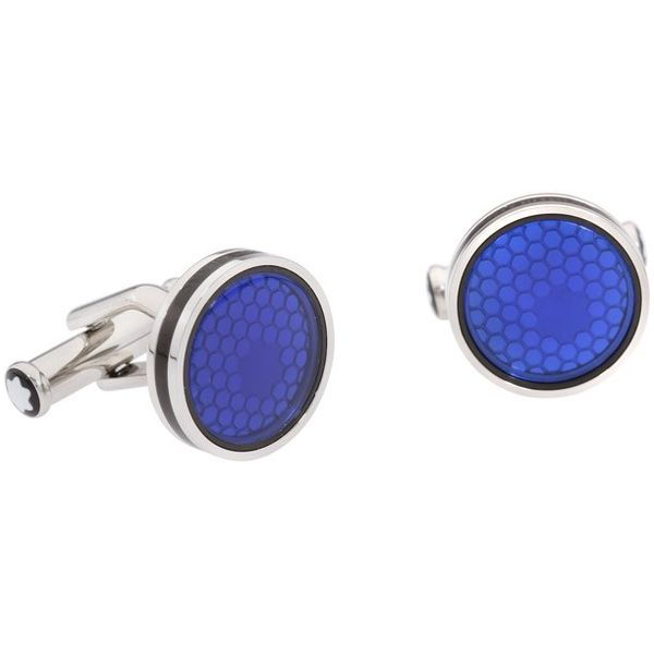 118602-Montblanc-blue-cufflinks