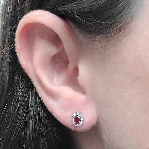 Ruby-and-diamond-halo-stud-earrings