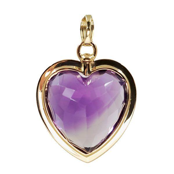 Heart-Shaped-Amethyst-Pendant