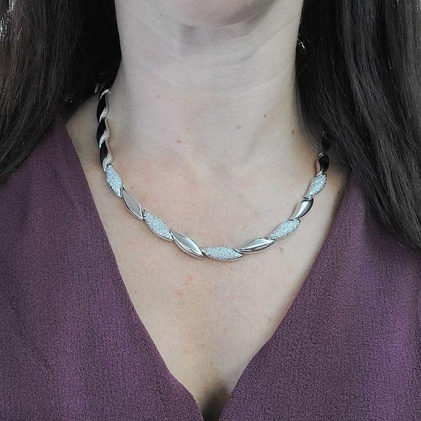 white-gold-Diamond-Station-Necklace