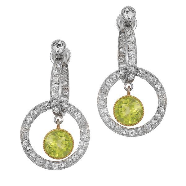 green-tourmaline-diamond-earrings