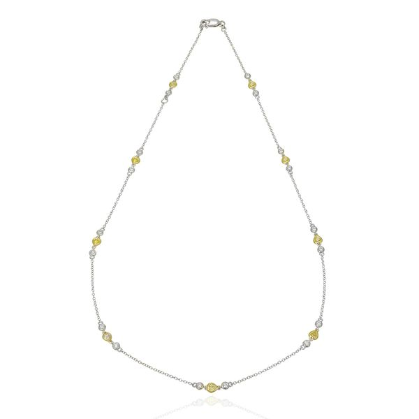 yellow-and-white-gold-diamond-necklace