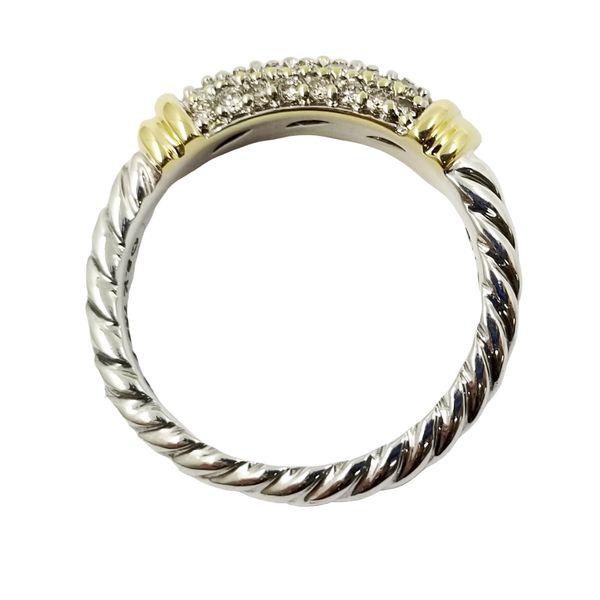 David Yurman Diamond Ring Image 3 Jae's Jewelers Coral Gables, FL