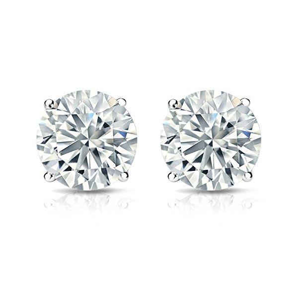 1.45 Carat Diamond Studs Jae's Jewelers Coral Gables, FL