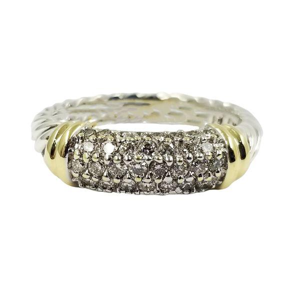 David Yurman Diamond Ring Jae's Jewelers Coral Gables, FL
