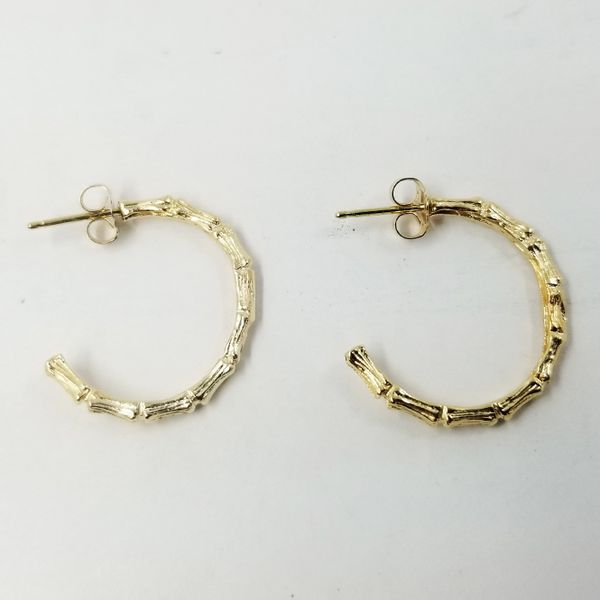 Yellow-Gold-Bamboo-Earrings