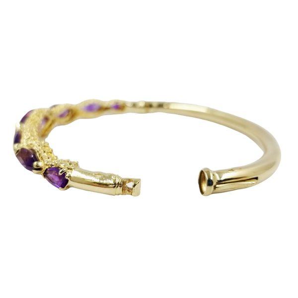 Vintage Marquis Amethyst Bracelet Image 3 Jae's Jewelers Coral Gables, FL