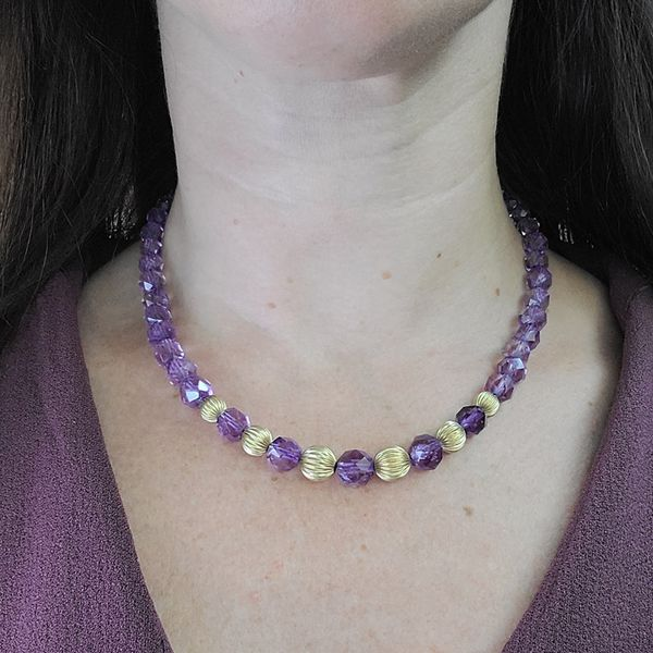 Faceted-Amethyst-Bead-Necklace