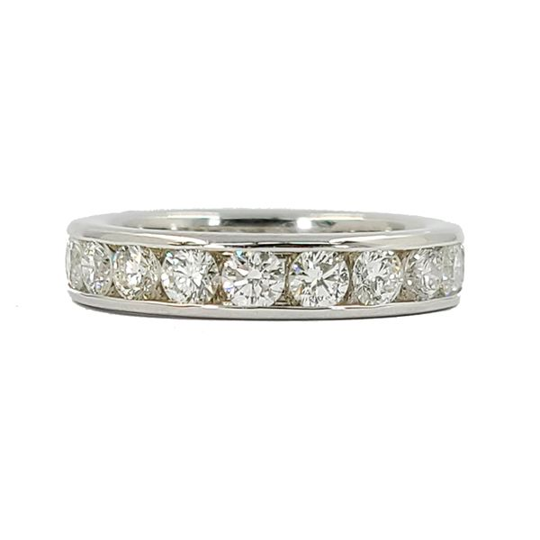 Diamond-channel-set-wedding-band