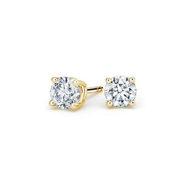 0.40-Carat-Yellow-gold-diamond-studs