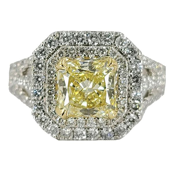 1.13-Carat-Radiant-cut-yellow-diamond