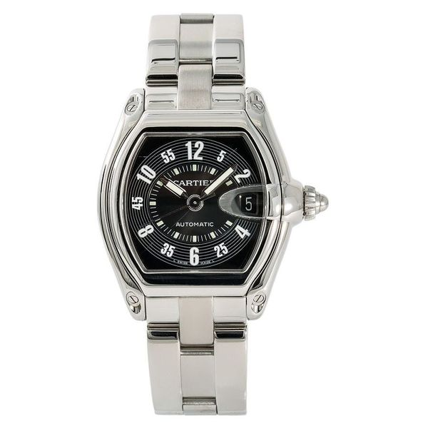 2510-Cartier-Roadster-stainless-steel-black-dial
