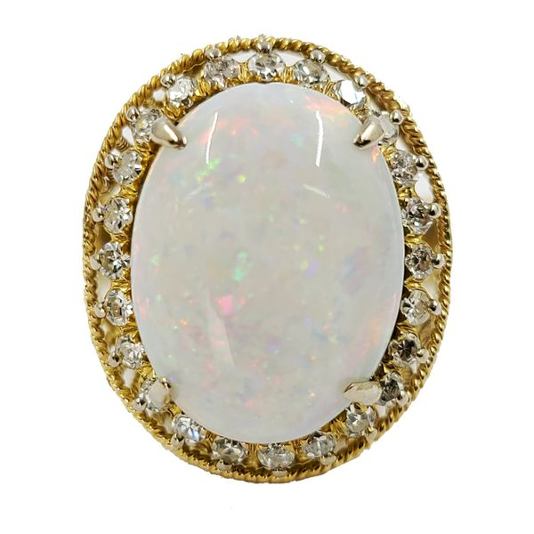 Opal-and-Diamond-Ring