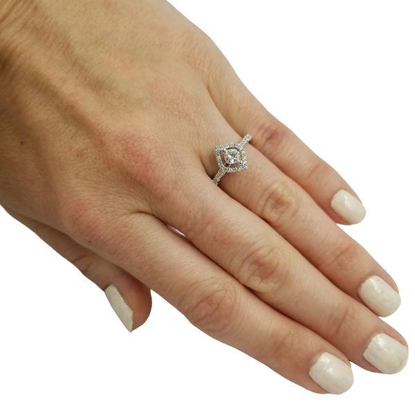 Diamond Calla Engagement Ring  Image 4 Jae's Jewelers Coral Gables, FL