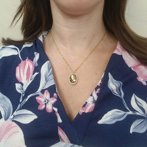 Flamme Blance Collection Necklace Image 2 Jae's Jewelers Coral Gables, FL