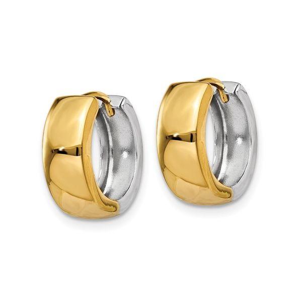 Y7915-Two-Tone-Huggie-earrings
