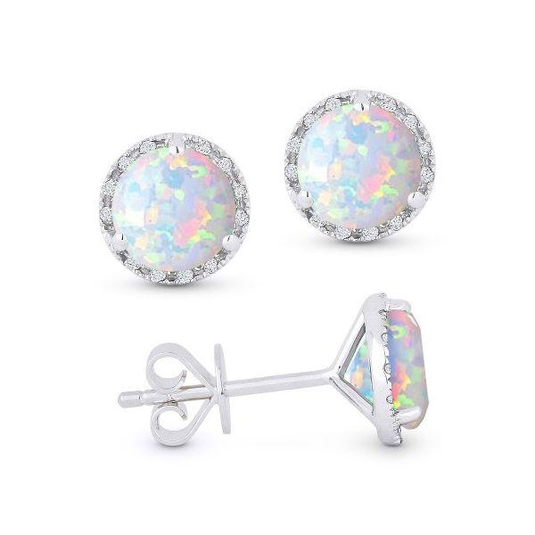 E1023OPW-Opal-with-diamond-halo-stud-earrings