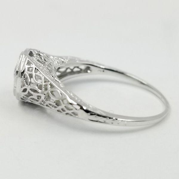 Vintage Inspired Diamond Ring  Image 2 Jae's Jewelers Coral Gables, FL