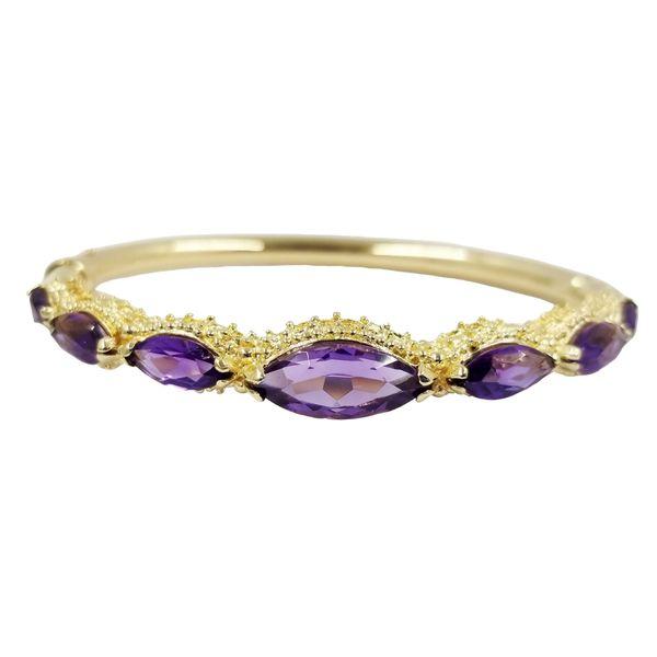 Vintage Marquis Amethyst Bracelet Jae's Jewelers Coral Gables, FL