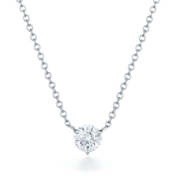 0.25-Carat-Diamond-solitaire-pendant-necklace