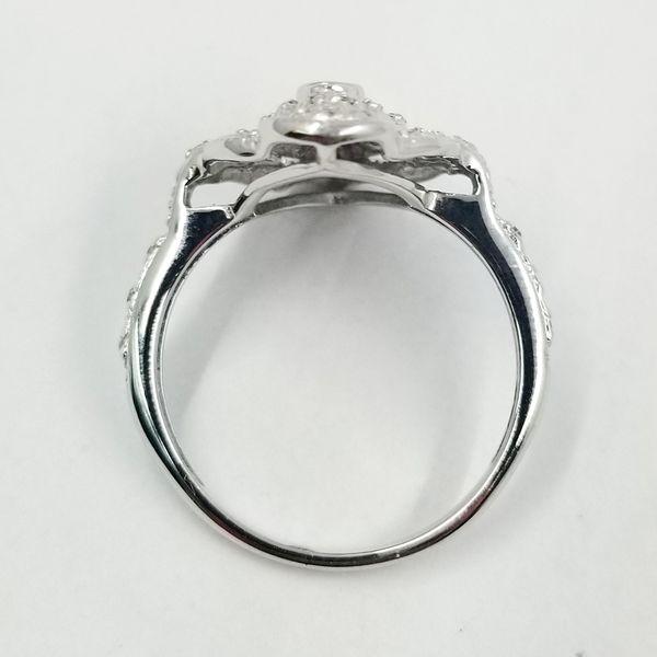 Vintage Inspired Diamond Dinner Ring  Image 3 Jae's Jewelers Coral Gables, FL