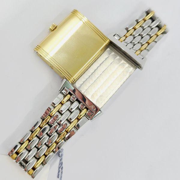 Jaeger-Le-Coultre-Two-Tone-Reverso-Wristwatch