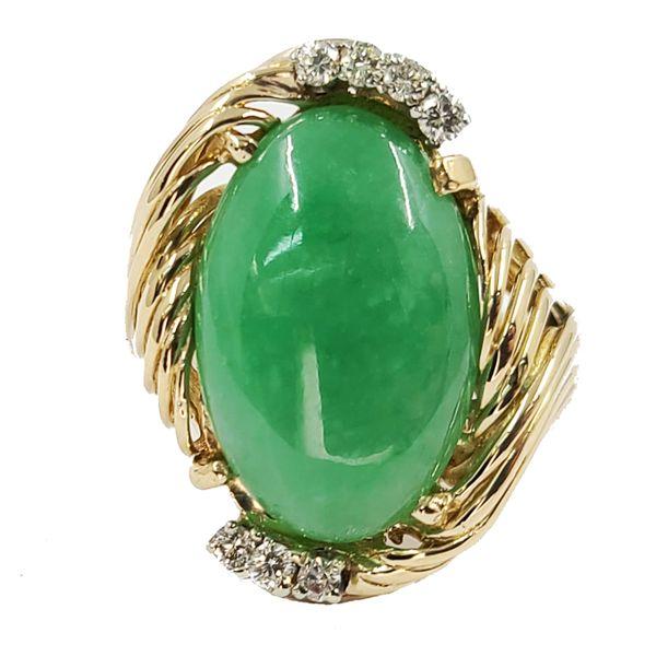 Jadeite-jade-ring
