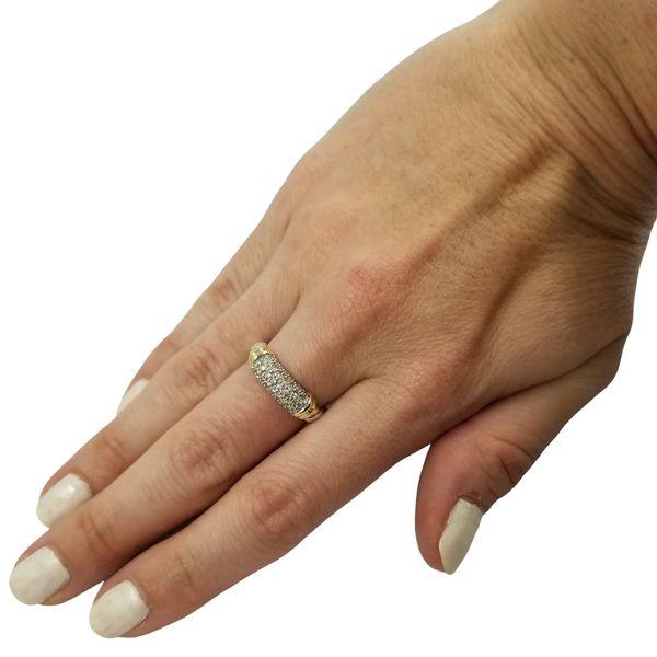 David Yurman Diamond Ring Image 4 Jae's Jewelers Coral Gables, FL