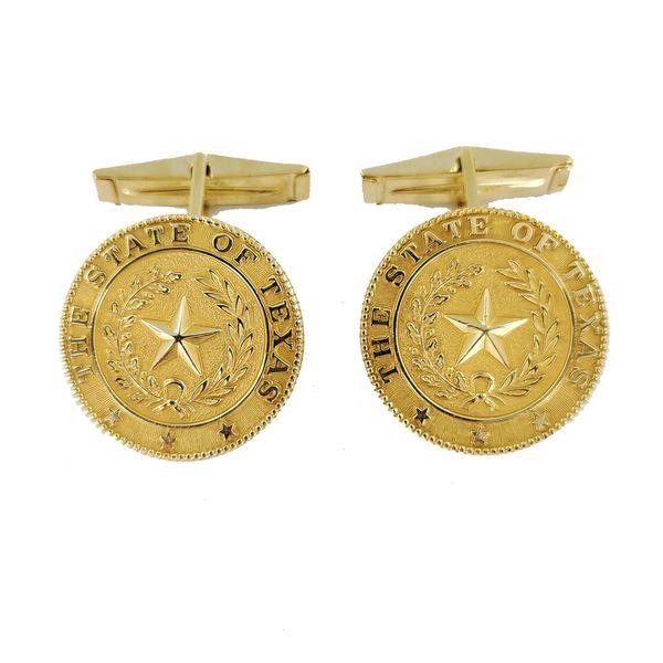 texas-yellow-gold-cufflinks