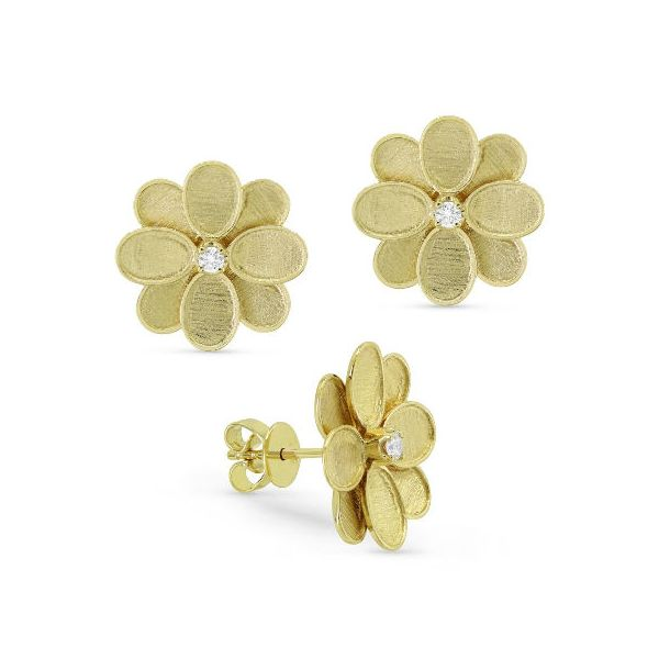 E1394Y-Yellow-Gold-Flower-and-diamond-earrings
