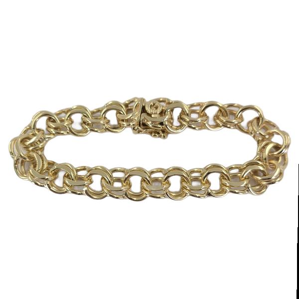 double-link-charm-bracelet