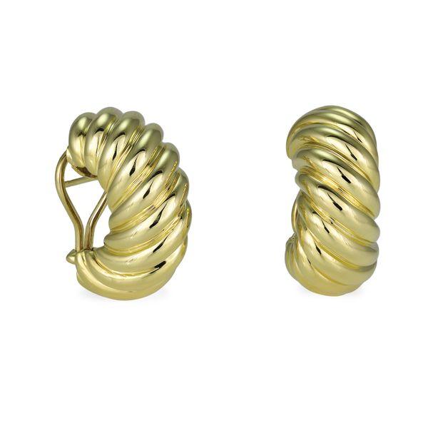 David-yurman-dome-earrings-yellow-gold