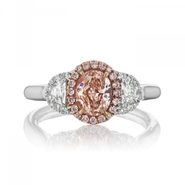 Natural-Very-Light-Pinkish-Brown-Diamond-engagement-ring