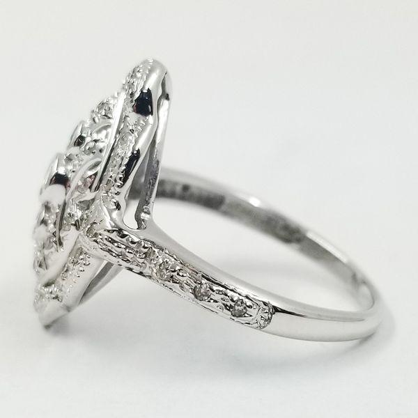Vintage Inspired Diamond Dinner Ring  Image 2 Jae's Jewelers Coral Gables, FL