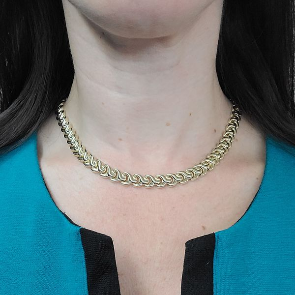 yellow-gold-Y-link-necklace