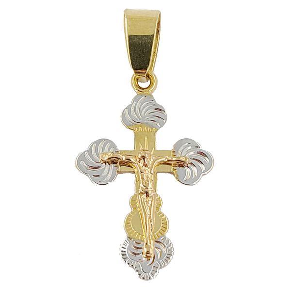 Tri-color-crucifix