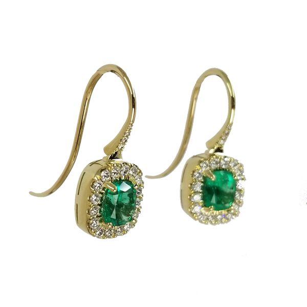 Emerald-Diamond-Dangle-Earrings