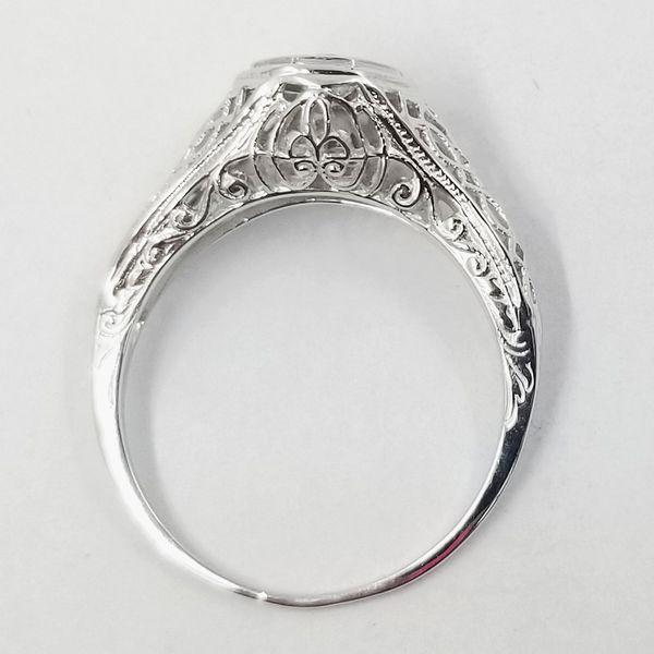 Vintage Inspired Diamond Ring  Image 3 Jae's Jewelers Coral Gables, FL