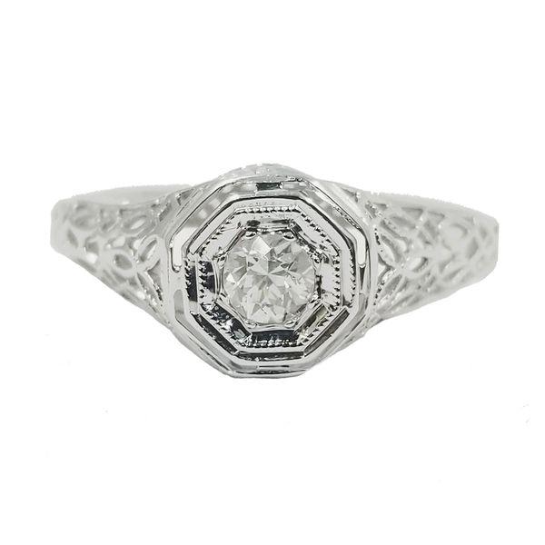Vintage Inspired Diamond Ring  Jae's Jewelers Coral Gables, FL