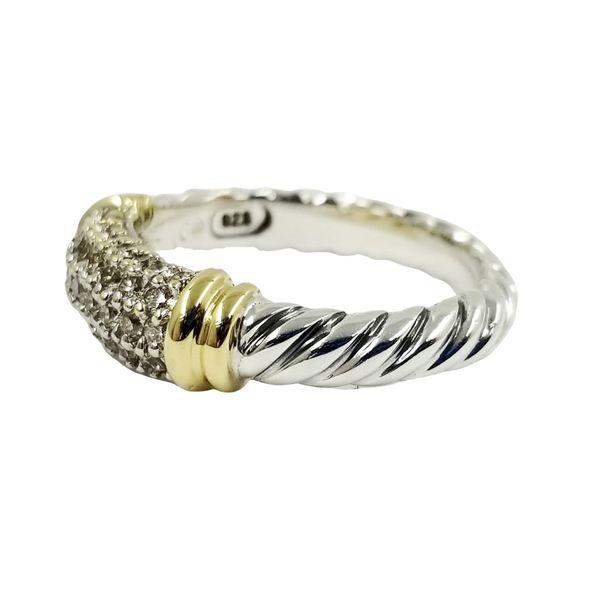 David Yurman Diamond Ring Image 2 Jae's Jewelers Coral Gables, FL