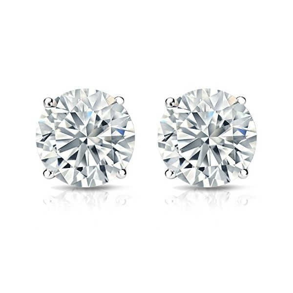 .96-Diamond-Stud-Earrings-four-prong